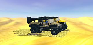 lego jurassic park jeep wrangler instructions lego ideas off road adventure jeep wrangler u0026 hummer