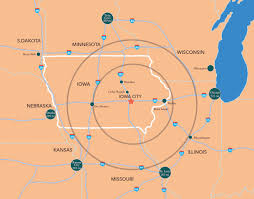 Map Of Iowa Towns Maps U0026 Transportation