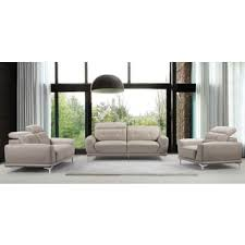 Wood And Leather Sofa Adelina 4 Piece Modern Top Grain Leather Sofa Set Free Shipping