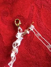 trellis ladder yarn necklace instructions crochet ladder yarn necklace the things i have made pinterest