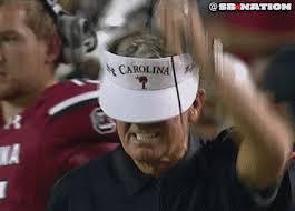 Steve Spurrier Memes - steve spurrier punts his visor for little gain sbnation com