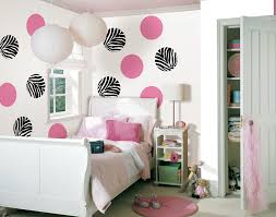 attractive bedroom layout for small room beautiful pink and zebra print wallpaper design of small teenage bedroom with cool white round paper