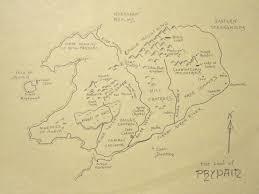 Narnia Map Maps Myth U0026 Moor