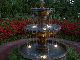 fresh design fountains for gardens stylish small garden fountain