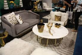 Gold Round Coffee Table Beautiful Furniture Designs Grounded By Glamorous Gold Bases