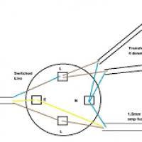 kitchen downlights wiring diagram yondo tech