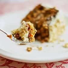 carrot cake with maple cream cheese frosting she cooks he cleans