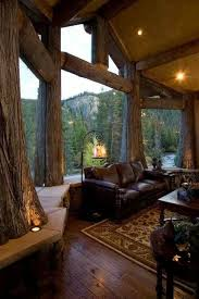 lodge style home decor third choice of dream home would be a beautiful log home me