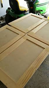 How To Make Cabinet Doors From Plywood Coffee Table Upcycled Shaker Panel Cabinet Doors Kitchen