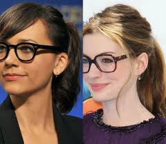 some wonderful hairstyles that flatters with trendy glasses