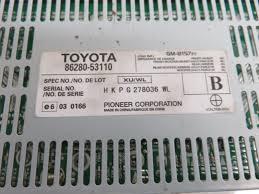 lexus parts hk 06 13 lexus is250 is350 is f stereo radio amplifier pioneer 86280