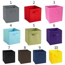 storage bin closet toy storage box container organizer home fabric