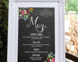 menu template catering menu menu board wedding menu