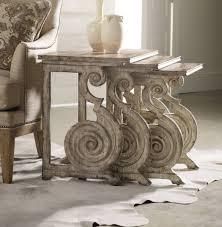 hooker furniture living room rhapsody nest of tables 5071 50001