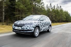 skoda karoq 2017 prototype review autocar