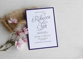 simple wedding invitations simple script wedding invitations be my guest