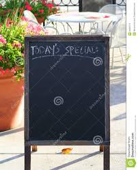 today u0027s special sign stock photos image 29659773