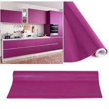 autocollant pour armoire de cuisine kinlo 5m 0 61m papier peint auto adhésif violet pour armoire meuble