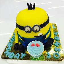 minion birthday cakes 3 d minion birthday cake custom design picture of joob joob