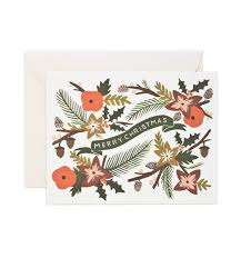 garland greeting card by rifle paper co made in usa