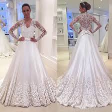 vintage lace wedding dress discount sleeve vintage lace wedding dresses 2017 v neck with