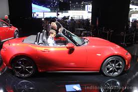 mazda convertible 2015 2015 mazda mx 5 side at the 2014 los angeles auto show indian