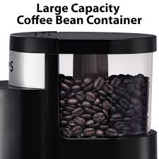 Mr Coffee Burr Mill Grinder Review Krups Professional Burr Coffee Grinder Black Gx500050 Walmart Com