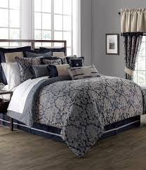 Damask Comforter Sets Waterford Sinclair Distressed Damask Comforter Set Dillards