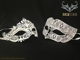 masquerade masks for couples white masquerade mask luxury bridal shower white wedding