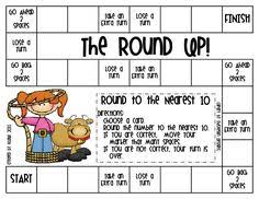 3 games for practicing rounding freebies math rounding games