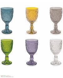 set bicchieri bicchieri vino colorati marrakech villa d este
