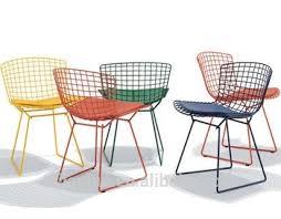 New Replica Designer Furniture Cafe Chairs Harry Bertoia Wire - Designer chairs replica