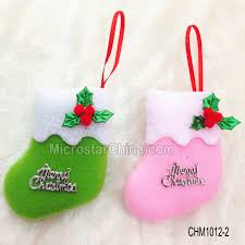 hanging mini felt christmas stockings for crafts u0026 decorations