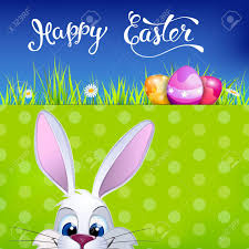 easter greeting cards easter greeting card with easter rabbit easter eggs and original
