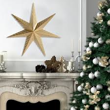 metal star home decor stratton home decor gold metal star wall art free shipping on