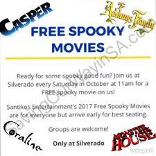 free spooky movies silverado coming this october coupon