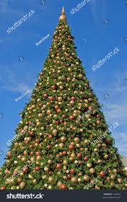 christmas tree big christmas lights decoration