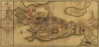 Map Of Newport Ri Map Of Rhode Island And The Position Of The French Army In Newport