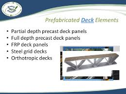 module 1 what are prefabricated bridge elements u0026 systems for