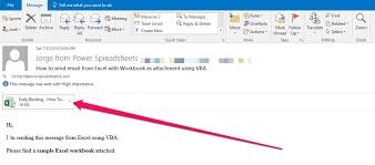 how to send email from excel with outlook using vba tutorial