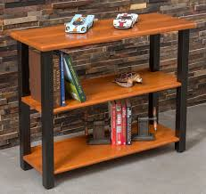 Bookshelf End Table Bookshelf Table Natural Cherry Caretta Workspace