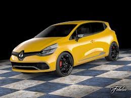 clio renault interior 3d model renault clio rs 2013 cgtrader