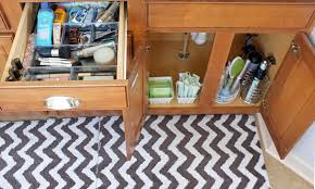 Under Cabinet Drawers Bathroom by Bathroom Under Cabinet Storage With Help From The Kitchen