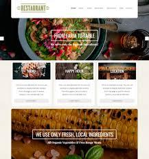 themes wordpress restaurant free restaurant theme beautiful responsive wordpress themes organic