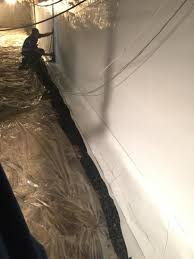 crawlspace repair crawl space and basement waterproofing in