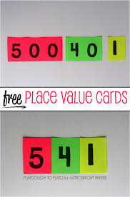 printable math games on place value place value cards colorize free printable math and elementary math