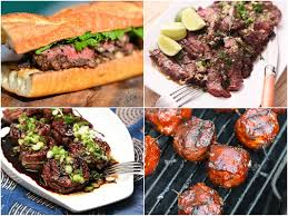 beyond memorial day burgers 13 recipes for grilled steak and more