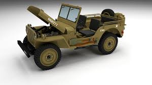jeep open full w chassis jeep willys mb military desert by dragosburian