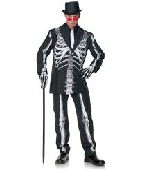 Skeleton Costume Bone Daddy Scary Halloween Costume Scary Costumes