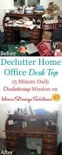 how to clean your desk clutter u0026 make it a habit